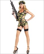 Army Brat Sexy Adult Costume