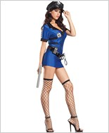 Sexy Policewoman Adult Costume