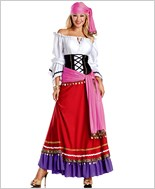 Tempting Gypsy Sexy Adult Costume