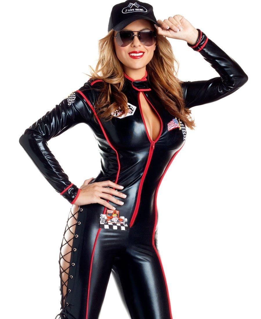 Sexy race car driver halloween costume