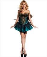 Princess Peacock Sexy Adult Costume