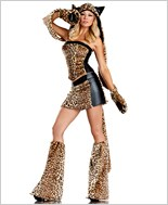 Lusty Leopard Sexy Adult Costume