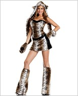 Temptuous Tiger Sexy Adult Costume