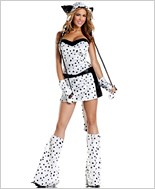 Darling Dalmatian Sexy Adult Costume