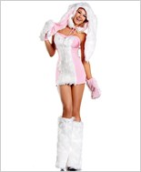 Blushing Bunny Sexy Adult Costume