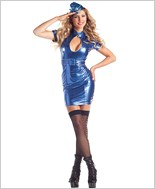 Hostess Hottie Sexy Adult Costume