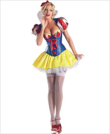 Deluxe Sweetheart Snow Sexy Adult Costume