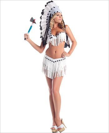 Chief Indian Princess Sexy Adult Costume
