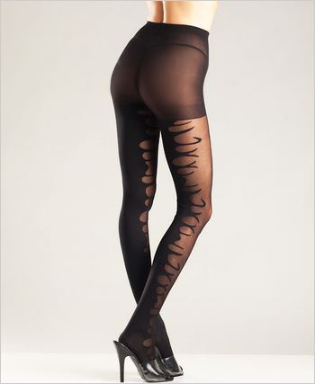 Flame Design Tights
