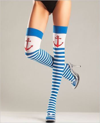 Anchor Thigh Highs