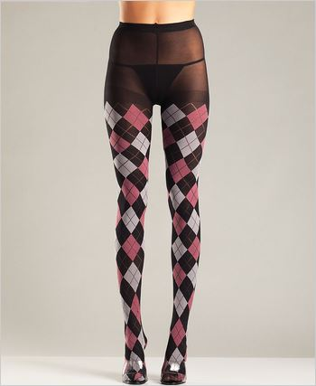 Classic Argyle Tights