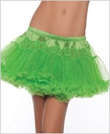 Lime Green Kate Layered Petticoat