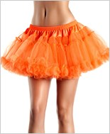 Orange Kate Layered Petticoat
