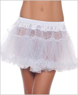 White Kate Layered Petticoat