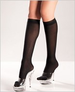 Opaque Knee Highs