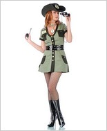 Border Babe Sexy Adult Costume STM-10107