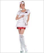 Night Duty Nurse Sexy Adult Costume STM-10119