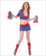 Cheer Leader Sexy Adult Costume STM-10127