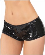 Sequined Booty Short CQ-108