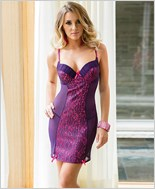Push-Up Lace Chemise