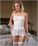 Bridal Lace Waist Cincher