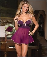 Babydoll And G-String Set CQ-1417