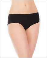 Stretch panty with center back slashes CQ-168