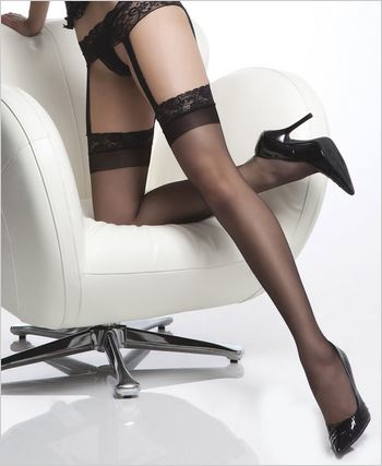 Garter Belt Thigh High Stockings