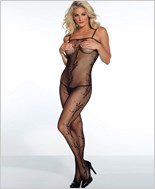 Fishnet Open Crotch Bodystocking