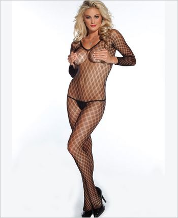 Multi Fence Net Bodystocking