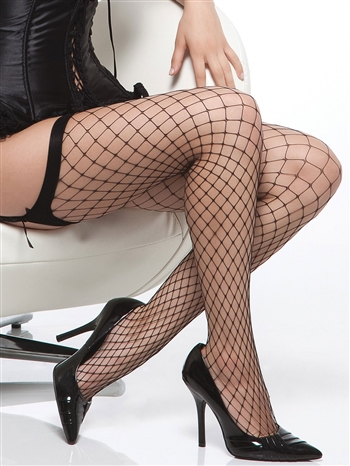 Dimond Net Tigh High Stockings CQ-1763X