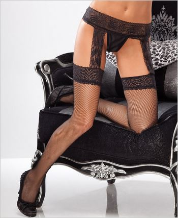 Lace Garter Belt Stockings