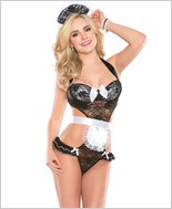 French Maid Teddy CQ-2407