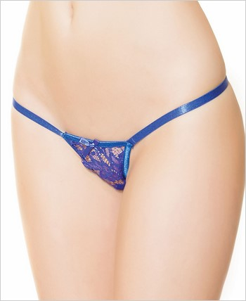 Adjustable Lace G-String Panty  CQ-3742