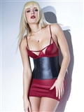 Matte Wetlook Waist Cincher CQ-D9352