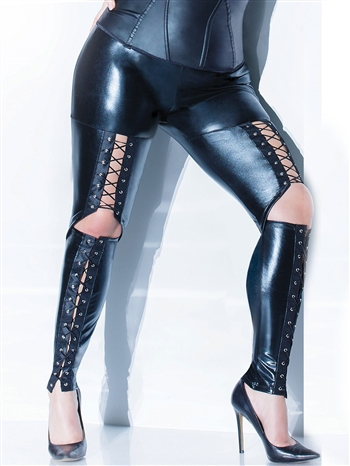 Diva Wetlook Pants CQ-D9364X