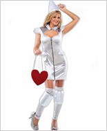 Sin In Tin Adult Costume