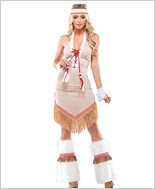 Sexy Native Adult Costume