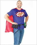 Captain 6 Pack Men's Halloween Costume CQ-M6548