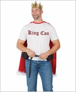 King Can Men's Halloween Costume CQ-M6550