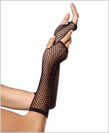Leg Avenue® Triangle Net Fingerless Gloves LA-2024