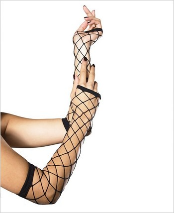 Fingerless Industrial Net Gloves