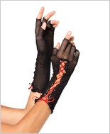 Fishnet Elbow Length Gloves LA-2129