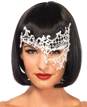 Daring Venetian Appliqué Eye Mask LA-3734