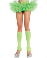 Leg Avenue Ribbed Leg Warmers LA-3921-Green