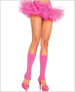 Leg Avenue Ribbed Leg Warmers LA-3921-Pink