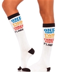 Shot Time Acrylic Knee High Socks LA-5609