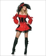 Leg Avenue® Vixen Pirate Sexy Adult Costume LA-83157