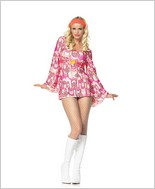 Leg Avenue® Retro Peace Sexy Adult Costume LAS-83312