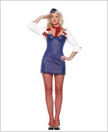 Leg Avenue® Mile High Attendant Sexy Adult Costume LA-83434B